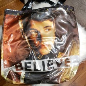Handbags - Justin Bieber concert believe. Bag and scarfCollec